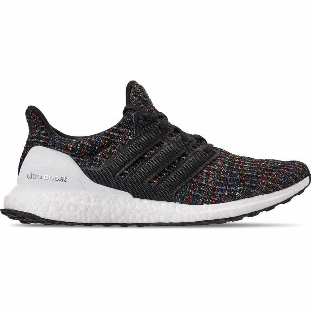9c5276093 Details about Men s adidas UltraBOOST Running Shoes Core Black Active Red  F35232 BBR