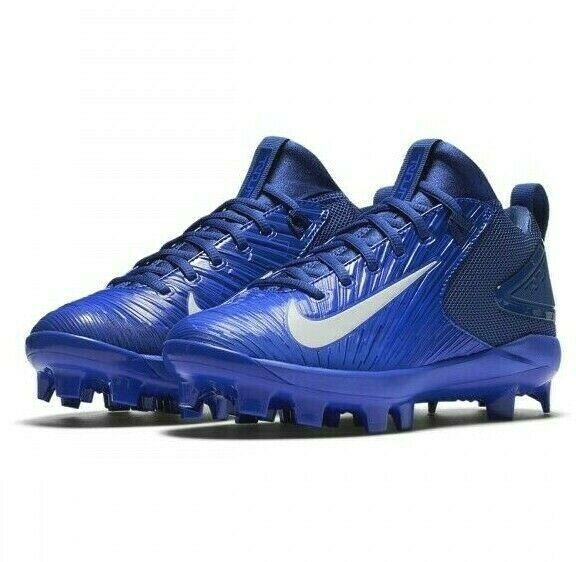 6ed801fda7a Details about Nike Trout 3 Pro MCS Baseball Cleats Blue White Blue Youth  Kids GS 856499-447