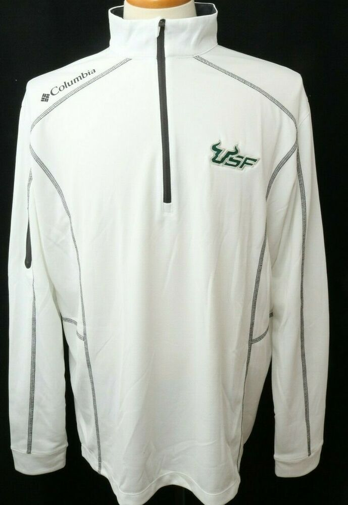 38d5e784de7 Details about New South Florida Bulls Columbia Omni-Wick Embroidered  Pullover Jacket Men's L
