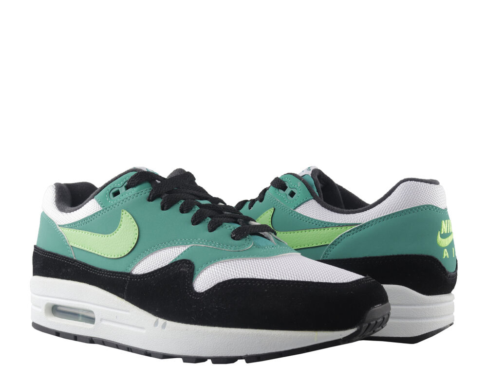 a14b0cc7 Nike Air Max 1 White/Green Strike Men's Running Shoes AH8145-107 | eBay
