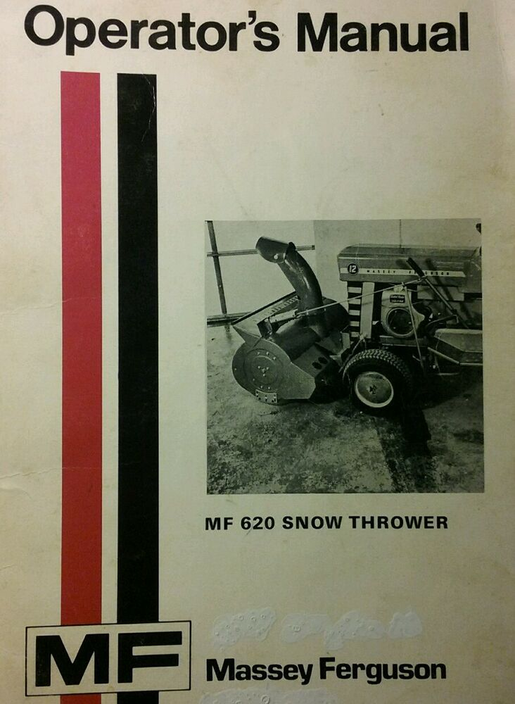Tractor Manuals & Publications Massey Ferguson 65-7 Rotary Cutter Parts Book Agriculture/farming