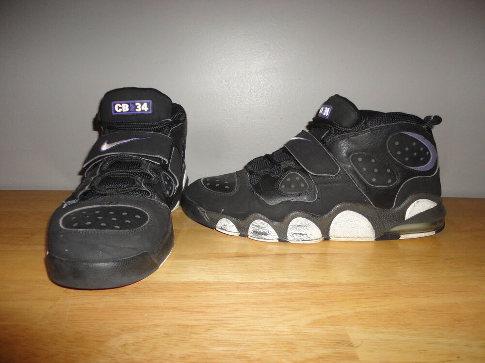 c5baa46ae27683 SIR CHARLES BARKLEY 2007 NIKE AIR MAX GODZILLA CB 34 Black Shoes 12 -  316940-011