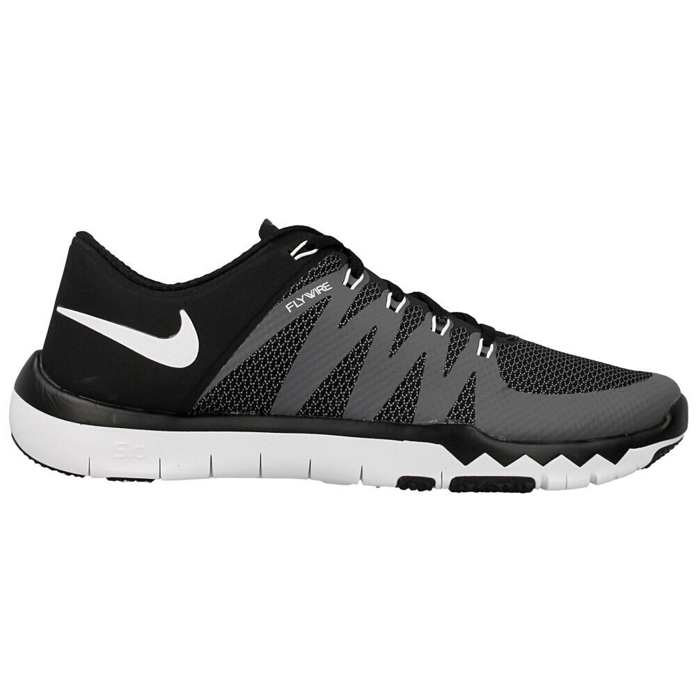 50096cc474c66 Details about Nike Free Trainer 5.0 V6 Training Shoe Black Dark  Grey Volt White Mens Size 15