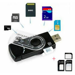 Kyпить USB SIM Card Reader Editor SMS Backup GSM / CDMA +CD Deleted Text Recovery Micro на еВаy.соm