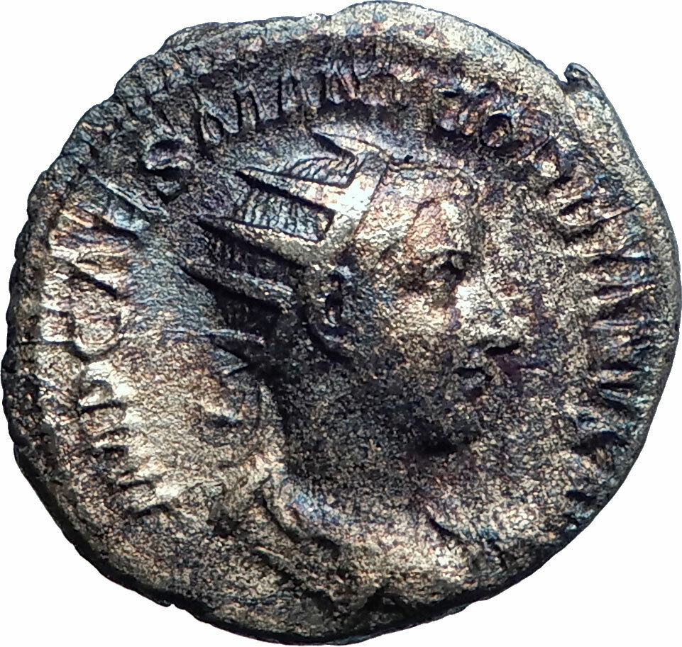 To Be Distributed All Over The World Rome Mint Gordianus Iii Silver Antoninianus Ancient Roman Imperial Coin