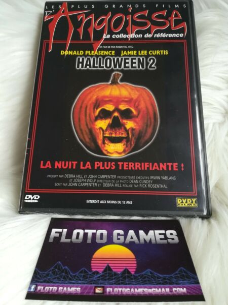 DVD ZONE 2 FR : Halloween 2 - Jamie Lee Curtis - Horreur - Floto Games