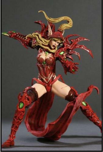 Toys & Hobbies Wow World Of Warcraft Blood Elf Rogue Valeera Sanguinar Action Figures Toy Gift Keep You Fit All The Time