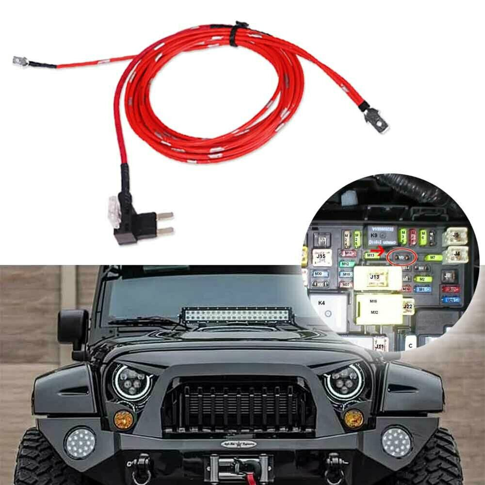 Car Drl Wiring Kit For Most 7 U0026quot  Integrated Led Headlight Daytime Running Lights