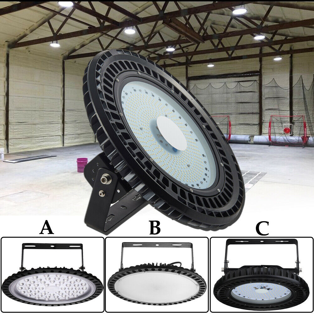 3x 300w Ufo Led High Low Bay Light Factory Warehouse: UFO LED High Bay Light 500W 300W 250W 200W 150W 100W 50W