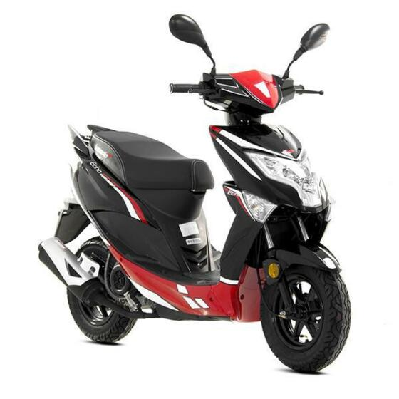 New Lexmoto Echo 49cc Moped 2018 scooter learner legal e4 model