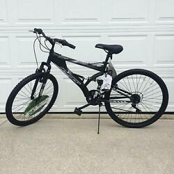 Kyпить ALUMINUM MOUNTAIN BIKE 21 Speeds Full Suspension 26
