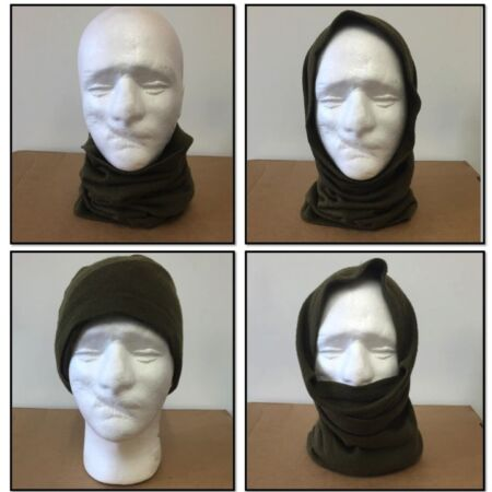 img-BRITISH ARMY HEADOVER COLD WEATHER USE SURPLUS SCARF BALACLAVA MASK BANDANA