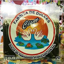 Mexican Candy Cisne Pulpa Tamarind Candy - 2 Pack 40 Pieces