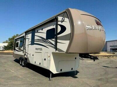 2015 REDWOOD SEQUOIA SQ38HRL LUXURY RV FIFTH WHEEL TRAILER CAMPER