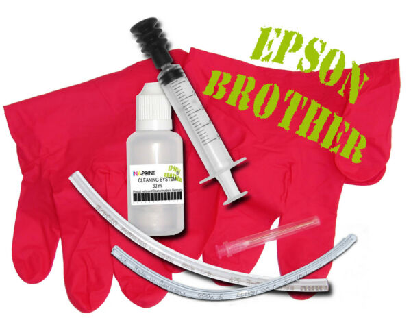 kit nettoyant nettoyage imprimante têtes d'impression special EPSON / BROTHER
