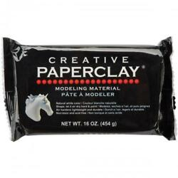 Creative Paperclay for Modeling Compound, 16-Ounce, Non-tocix & Acid free, White