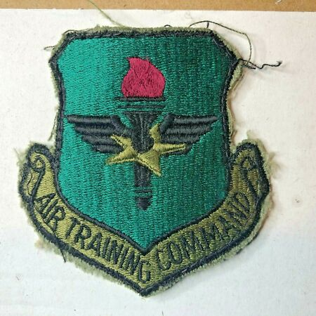 img-USAF Air Force Logistics Command Subdued Insignia Badge Patch Obsolete original