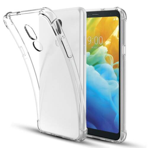 For LG Stylo 5 Phone Case Rubber TPU Gel Ultra Shockproof Slim Soft Clear Cover