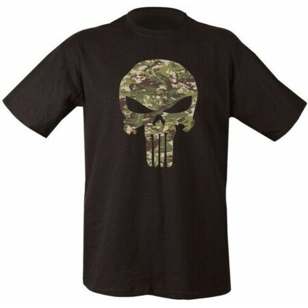 img-CAMOUFLAGE PUNISHER SKULL T-SHIRT MENS S-2XL 100% COTTON TOP CAMO GAMING BIKERS