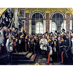 Kyпить The proclamation of the German Empire. History Repro choose Canvas or Paper на еВаy.соm