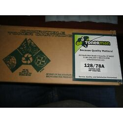 NEW Tonerman HP CE323A, 78A Canon 128 high quality toner FREE SAME DAY SHIPPING