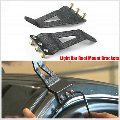 For Chevrolet Silverado GMC 50inch  Curved Led Light Bar Roof Mount Brackets