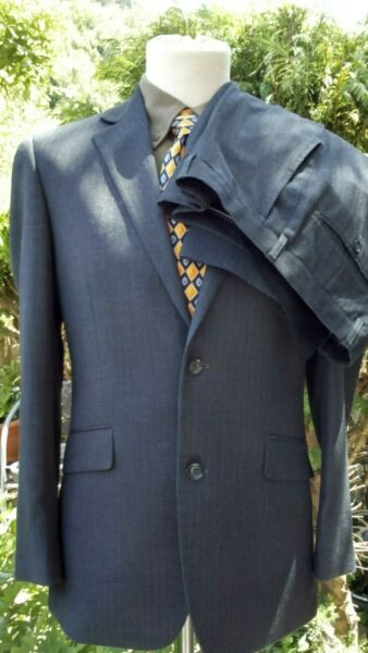 Dehavilland charcoal check suit