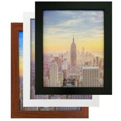 Kyпить Frame Amo Black Wood Picture Frame or Poster Frame, 1 Inch Wide, Refurbished на еВаy.соm