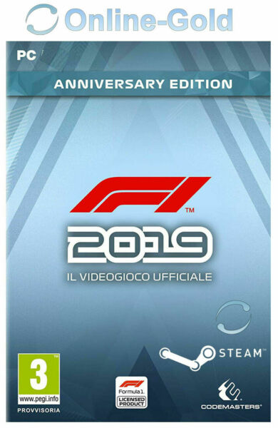 F1 2019 Anniversary Edition - Steam PC Codice di download [EU/IT] [Sport]