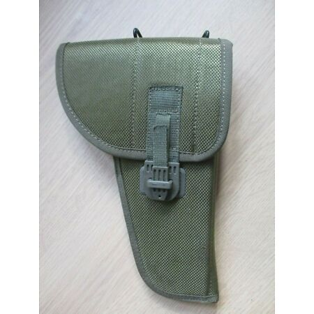 img-Military Army Tactical Gun Pistol Holster Green Camo Pouch Belt Holder Hunt (G)