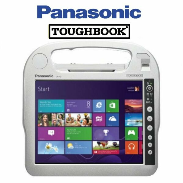 "Tablet ""Rugged"" Panasonic ToughBook CF-H2 -  10.1"" touch i5/4Gb/320Gb/W7P  (u..."