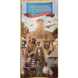 Warwick Castle 2015 Leaflet, Merlin Entertainments, NEW Time Tower