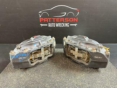2013 CADILLAC ATS PAIR OF FRONT BREMBO BRAKE CALIPERS OPTION J55