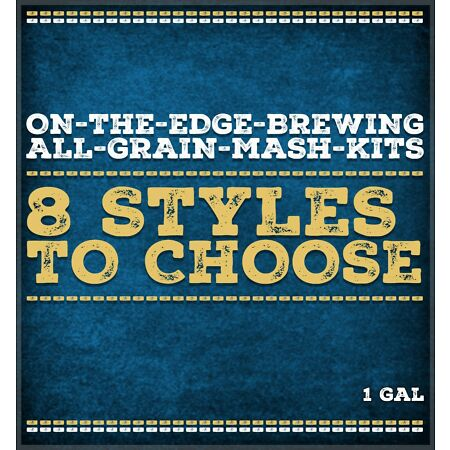 img-Homebrew All Grain Mash Kits 1 Gallon - 8 Styles To Choose From