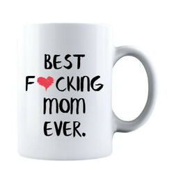 Kyпить Funny Mothers Day Best F❤cking Mom Ever Gift for Mom Coffee Mug Mommy на еВаy.соm