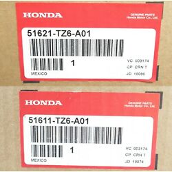 Genuine Acura 51611-TZ6-A01 & 51621-TZ6-A01 Front Shock Absorber Pair 14-19 MDX