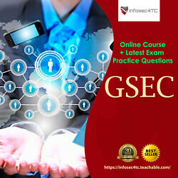 Kyпить GSEC Certification: Security Essentials - Online Course + Latest Exams 2020 на еВаy.соm