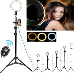 Kyпить LED Ring Light with Tripod Stand & Phone Holder Dimmable Ringlight Kit For Live на еВаy.соm