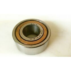 No Name 5306 brass cage, double row ball bearing, made in USA.