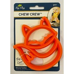 Kyпить Itzy Ritzy Silicone Fox Baby Teether –BPA-Free Infant Teether with Easy-to-Hold на еВаy.соm