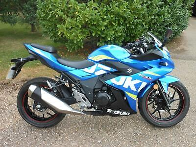 SUZUKI GSX 250 R ABS, 2019, 123 MILES, ONE MATURE OWNER FROM NEW, STUNNING