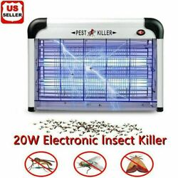 Kyпить Lamp Insect Killer Mosquito Zapper Bug Pest Fly Trap Electric Indoor Light Lawn на еВаy.соm