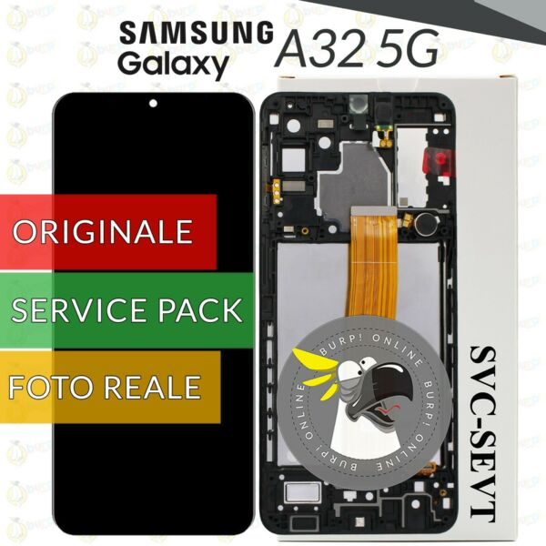 DISPLAY LCD PER XIAOMI MI A3 TOUCH SCREEN VETRO SCHERMO NERO M1906F9 SH SI