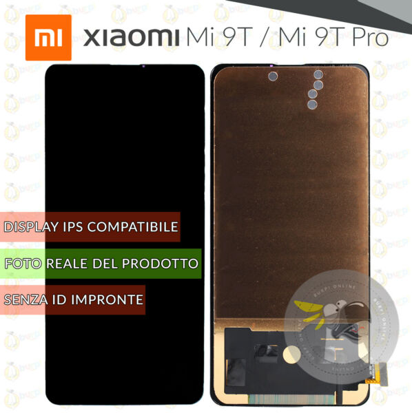 DISPLAY LCD TOUCH SCREEN XIAOMI MI 9T - MI 9T PRO VETRO SCHERMO NERO M1903F10G