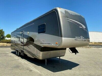 2005 NEWMAR MOUNTAIN AIRE 38SDKC LUXURY RV FIFTH WHEEL TRAILER