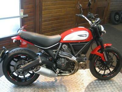 "2016 DUCATI SCRAMBLER 803 ICON  ABS  ""IMMACULATE CONDITION"""