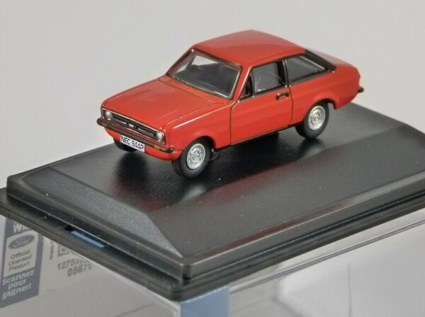 Royaume-UniFORD  Mk2 in Tango Red - 1/76 scale model OXFORD DIECAST