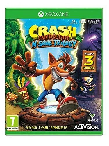 Crash Bandicoot N. Sane Trilogy Xbox One Download NO code cd Leggi Descrizione