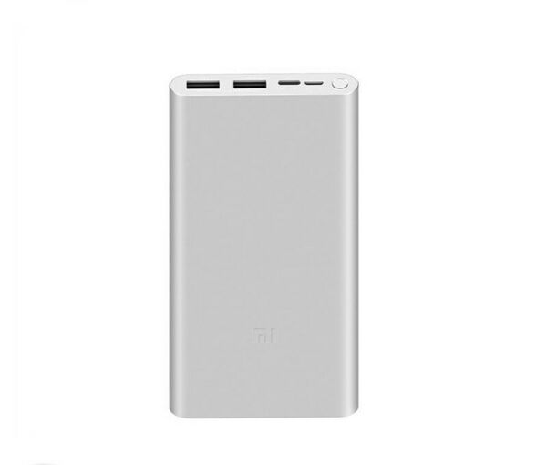 EspagnePower Bank 3 Battery External  10000MAH Silver/Fast Charging / P. Type C