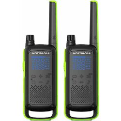 Kyпить Motorola Talkabout T801 Two-Way Radio, 35 Mile, 2 Pack, Bluetooth, Black & Green на еВаy.соm